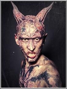 特效化妆师:郭家梦;作品名称:恶灵