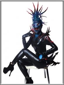 特效化装师:洛熙;作品名称:蝎子精