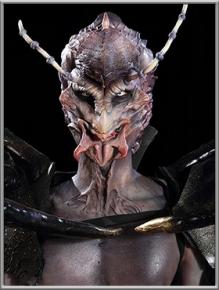作品:青蜂兽;特效化妆师:张繗